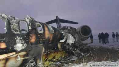 حطام طائرة أمريكية من طراز بومباردييه E11-A سقطت شرقي غزنة الأفغانية وتسيطر حركة طالبان بشكل واسع على المنطقة. ولا يعرف بعد سبب سقوطها.
