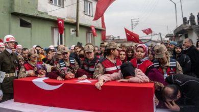 قتل 33 جندي من القوات التركية في غارة جوية نفذتها طائرات النظام السوري GETTY IMAGES