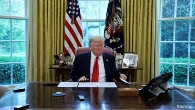 """قال ترامب إن الاتفاق التجاري بين الصين والولايات المتحدة """"تأثر سلبا"""" - ترامب"""