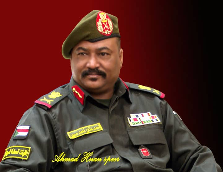 والي ولاية الجزيرة المكلف اللواء ركن أحمد حنان صبير
