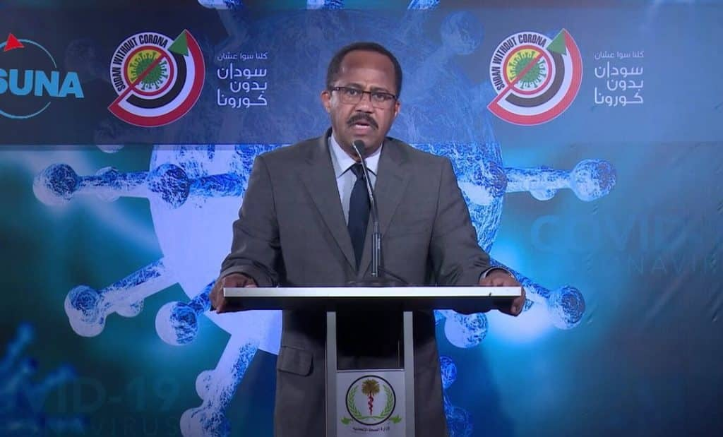 د. أكرم علي التوم وزير الصحة الاتحادية