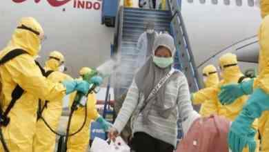 إجراءات إندونيسية لمواجهة فيروس كورونا- أرشيفية