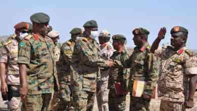 لبرهان.. في الفشقة السودانية على الحدود الشرقية مع اثيوبيا بعد انسحاب الجيش الأثيوبي وإعادة انتشار القوات المسلحة السودانية