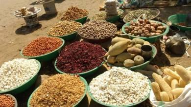 سوق أبو جهل الشهير في مدينة الابيض عروس الرمال