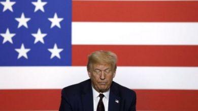 """قال ترامب إن التصويت بالبريد"""" سيجعل الانتخابات """"أكثر انتخابات مزورة وغير دقيقة في التاريخ"""" EPA"""