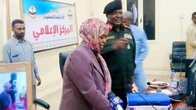 الدكتورة آمنة أحمد المكي تستلم مهامها والياً على النهر النيل