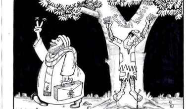 الكيزان ... كاريكاتير عمر دفع الله