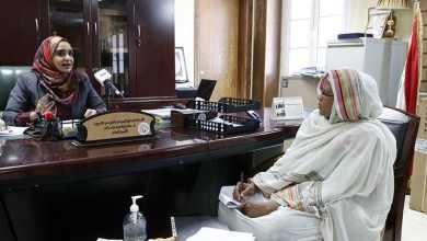 الأستاذة: عاكفة الشيخ بشير، تحاور الاستاذة سناء ابراهيم جاد الله