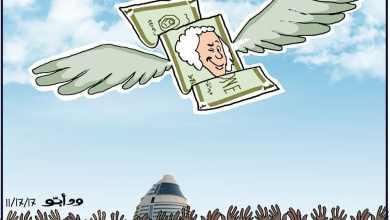 الدولار ... كاريكاتير ود أبو