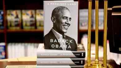 """المجلد الأول من مذكرات باراك أوباما """"أرض الميعاد"""" المؤلفة من جزأين Getty Images"""