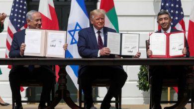 توقيع اتفاق التطبيع بين الإمارات وإسرائيل - رويترز