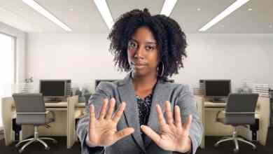 """قول """"لا"""" مشكلة معقدة إلى حد ما، نظرا لأن بيئة العمل تكون عادة محمومة وتنافسية"""