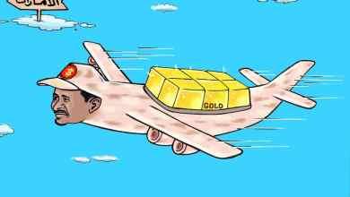قوات الدعم السريع ... كاريكاتير عمر دفع الله