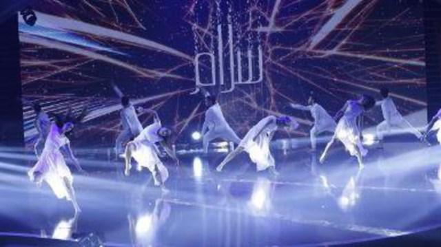 Arabs Got Talent Sima twirls