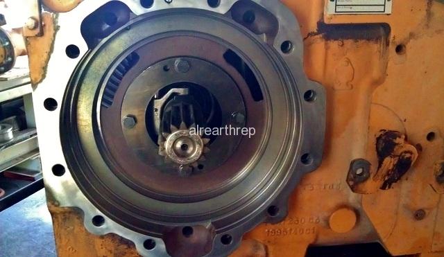 580SK Brake Repair