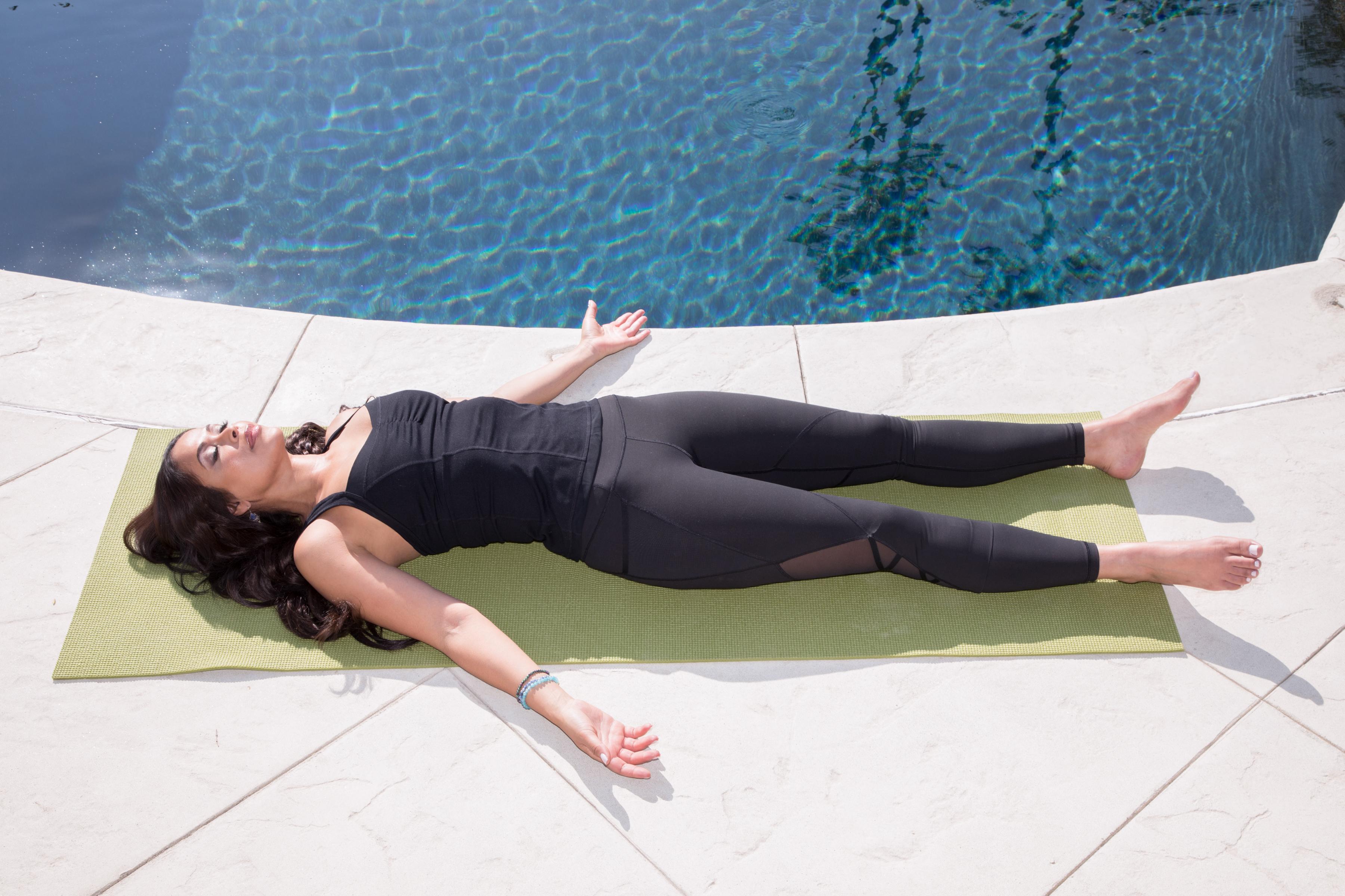 Corpse Pose Savasana Yoga For Calm And Relaxation