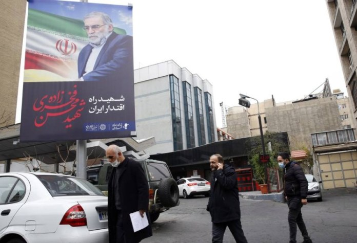 No country has claimed responsibility for the killing, despite Iran accusing Israel - Reuters