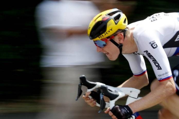 Slovenian Matej Muhortic. (Reuters)