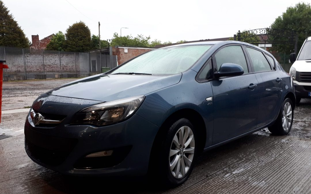 Vauxhall Astra repaired at ALR Paint and Body