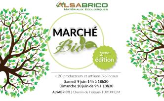 Marché BIO ALSABRICO - Juin 2018