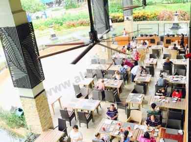alsanfan profan cafeteria hvls ceiling fans