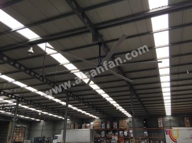 Industrial warehouse big ceiling fans