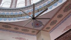 Masjid (Mosque) Ceiling Fans Applications, Masjid (Mosque) HVLS Fans Applications