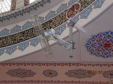 Masjid (Mosque) Pivot Ceiling Fans Applications, Masjid (Mosque) Pivot HVLS Fans Applications