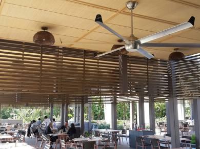 Profan Istanbul - Maxx Royal Restaurant Ceiling Fan 02