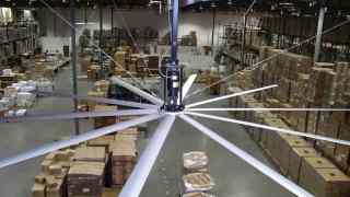 Worlds Most Efficient Industrial HVLS Fans, Worlds Most Efficient Industrial HVLS Fans