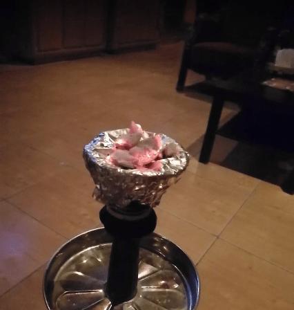 مقهى شيشه الصحراء