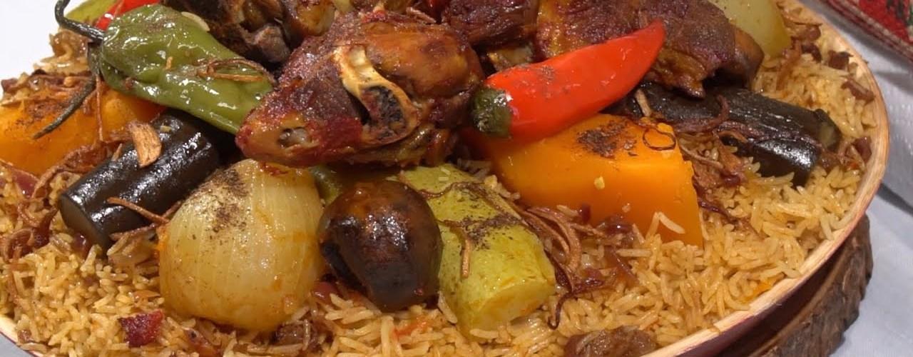 أكلات مطعم الكبسة اللذيذة للمضغوط والمقلوبة