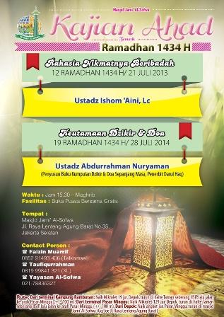 kajian ahad ramadhan-pint