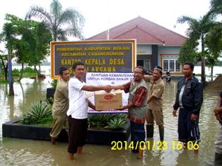 bantuan banjir 2014