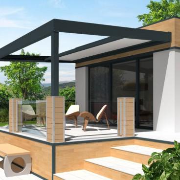 pergola allure thermotop a toit retractable