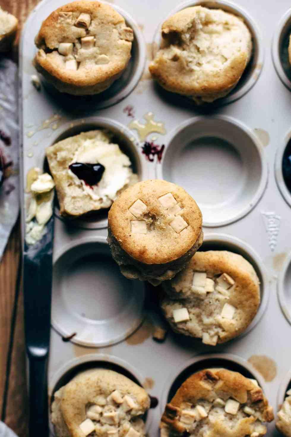 Super Soft White Chocolate Muffins Recipe