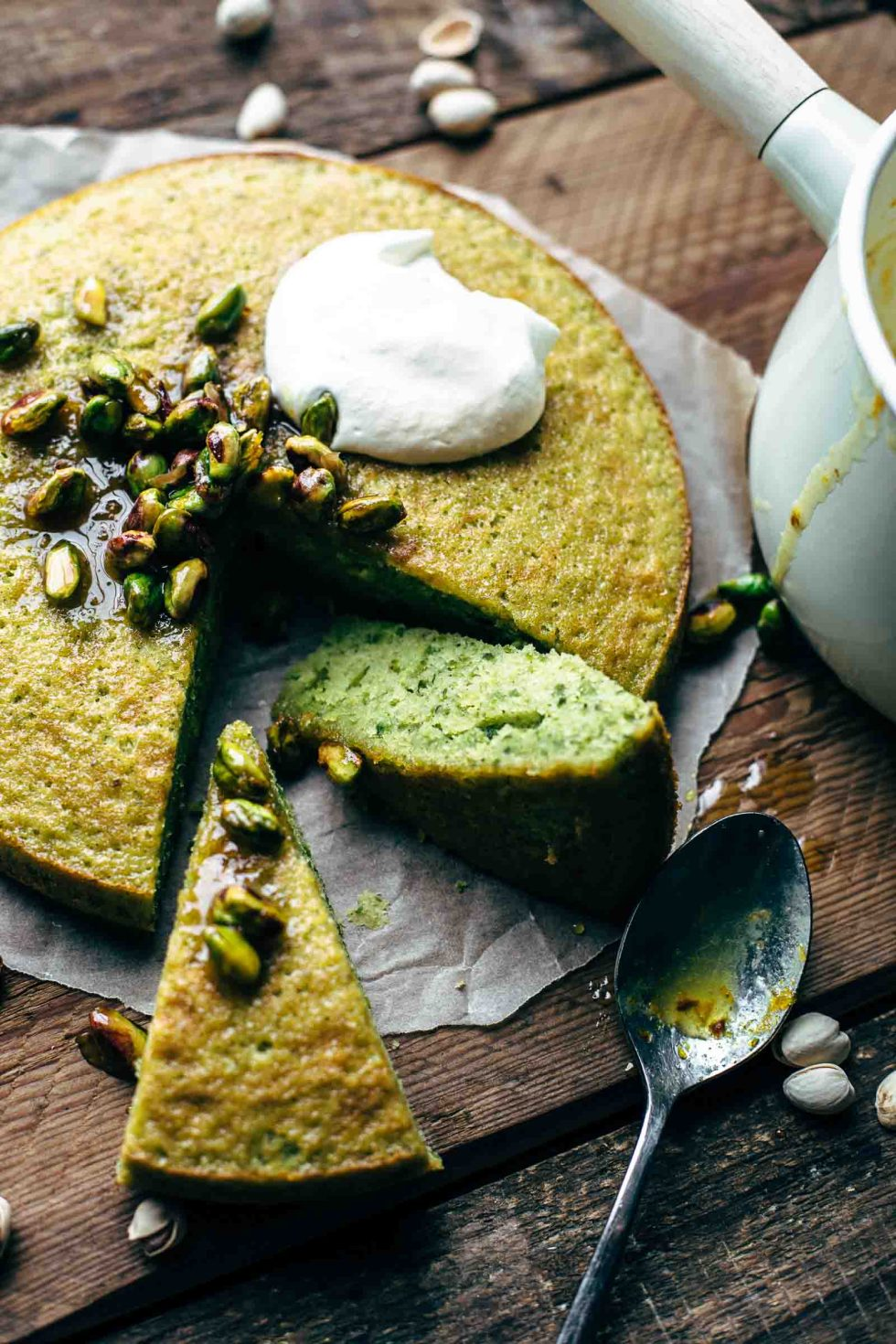 Easy Pistachio Cake Recipe From Scratch