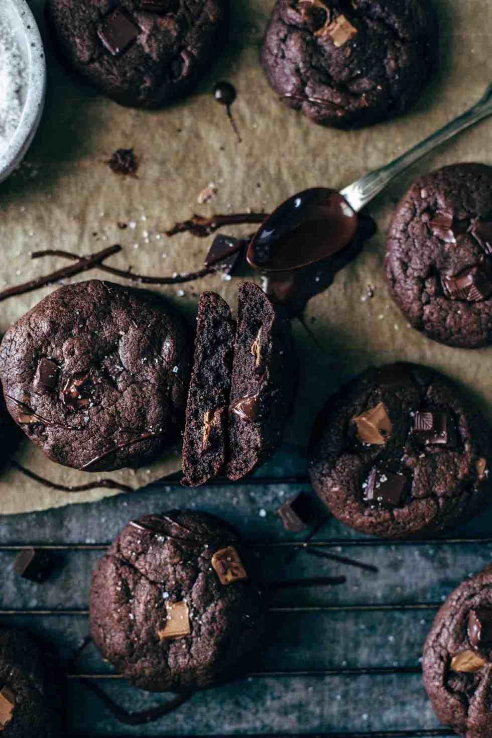 Chocolate Brownie Cookies Recipe