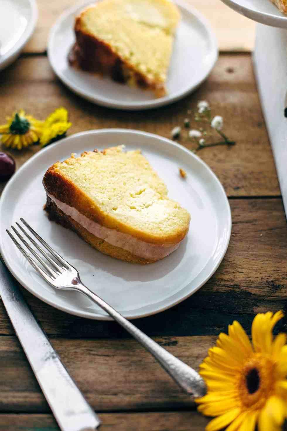Cream Cheese Swirled Lemon Bundt Cake Recipe