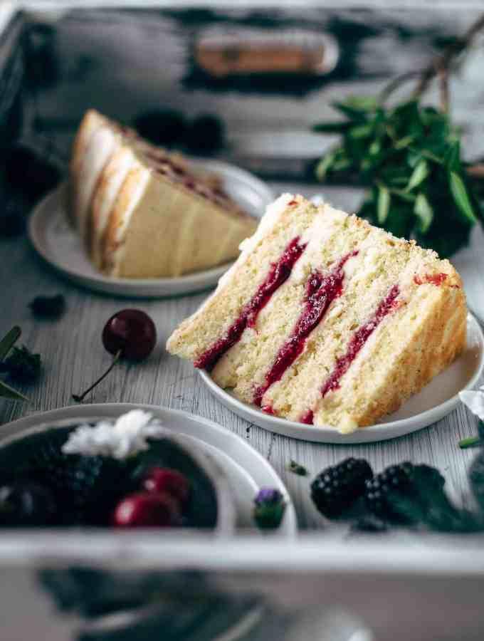 Fresh Cherry Cake Recipe From Scratch
