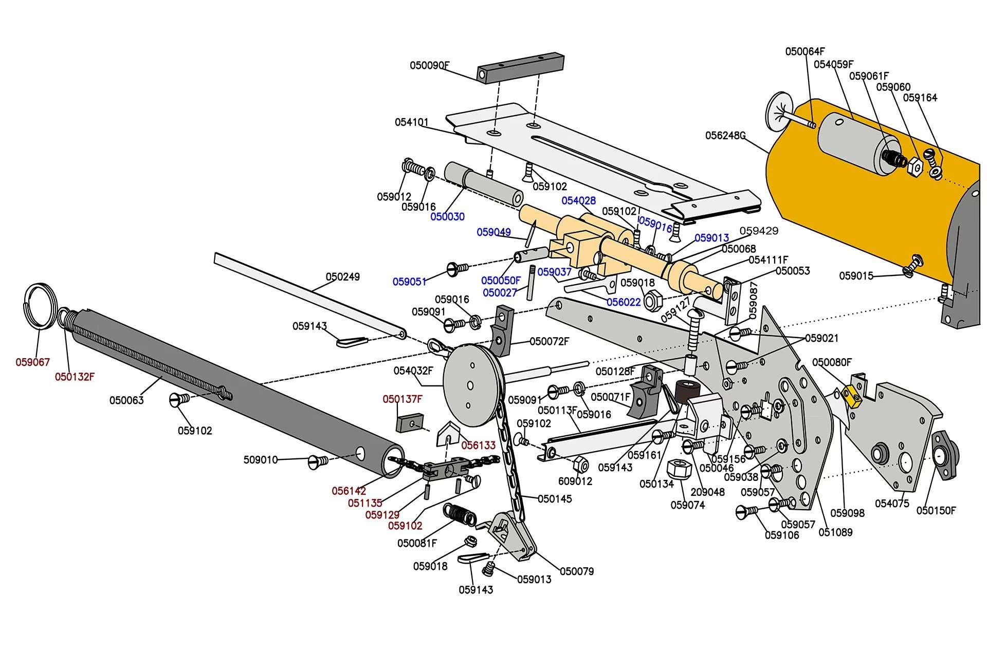 hight resolution of pentair mastertemp heater parts replacement part schematic tapetech 07tt parts list 1