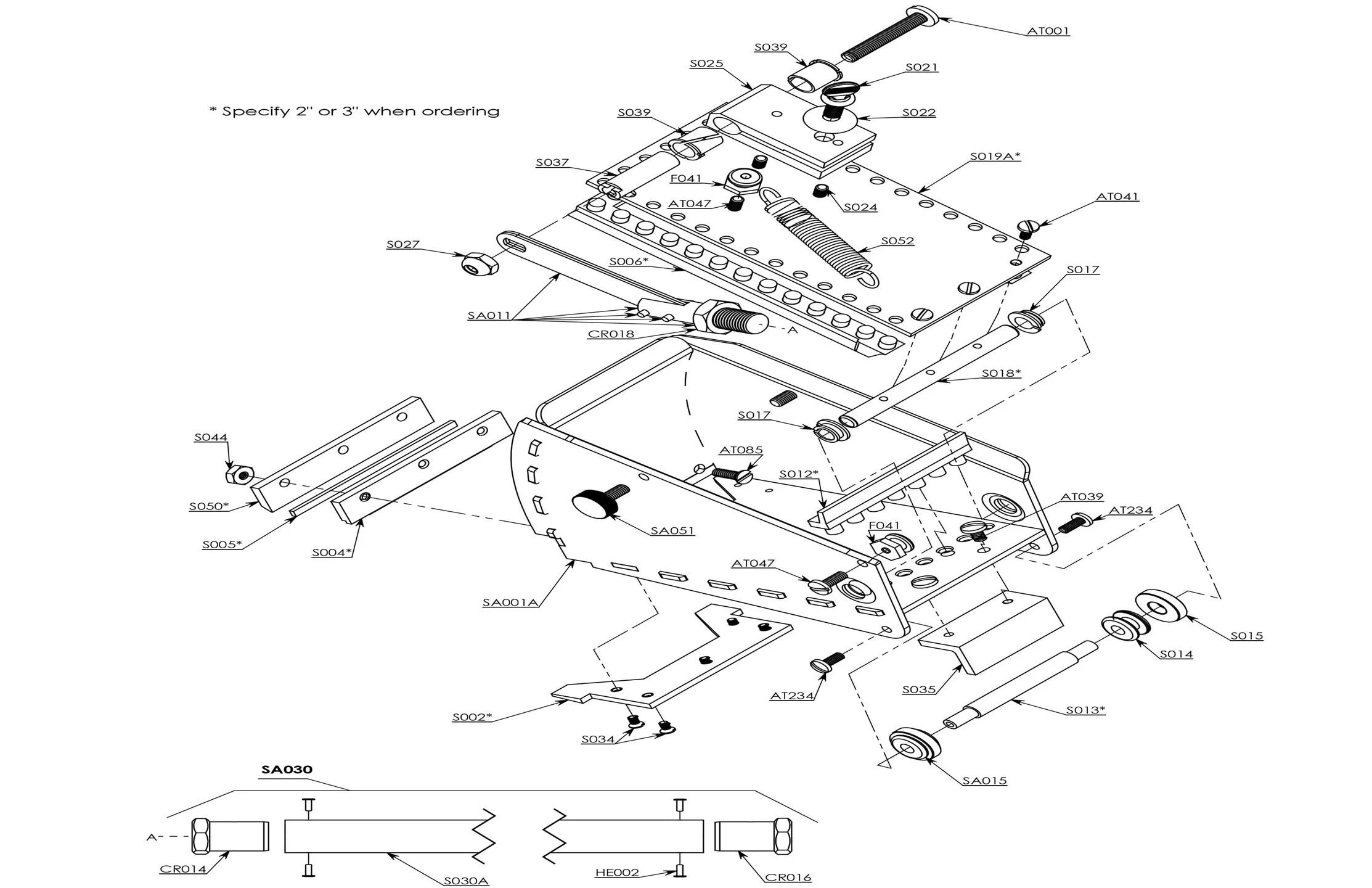 Nail Spotter Parts Diagram