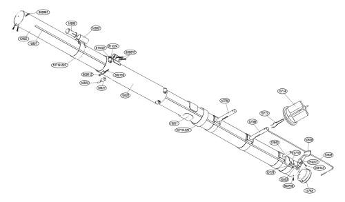 small resolution of tapetowm taper body parts list