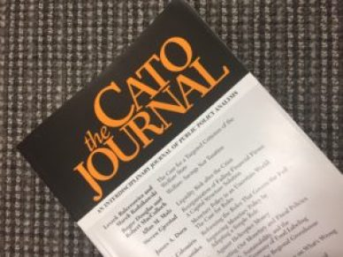 Cato Journal, monetary rules, monetary policy, SIFIs, fiscal policy