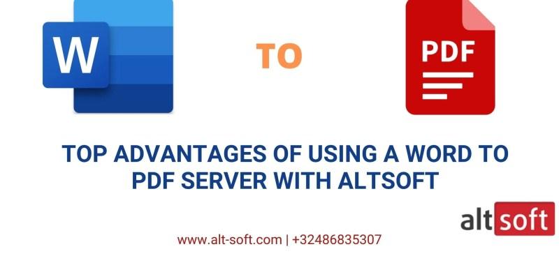 Word to PDF Server