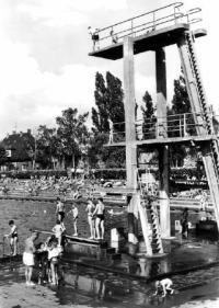 Das Zerbster Schwimmbad