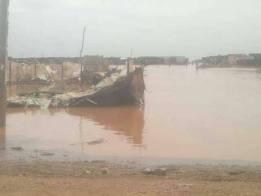 الطوفان يغرق العباد .. والحكومة اعتكاف