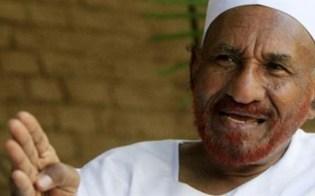 المهدي: منعي من دخول مصر مكافأة من المخابرات المصرية لنظيرتها السودانية