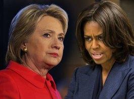 ميشل أوباما ملهمة مُبهرة لهيلاري كلينتون