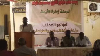الامن يعيد اعتقال ثمانية من طلاب دارفور